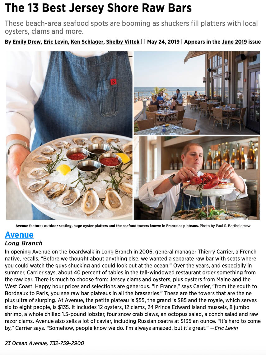 New Jersey Monthly Oysters At The Shore