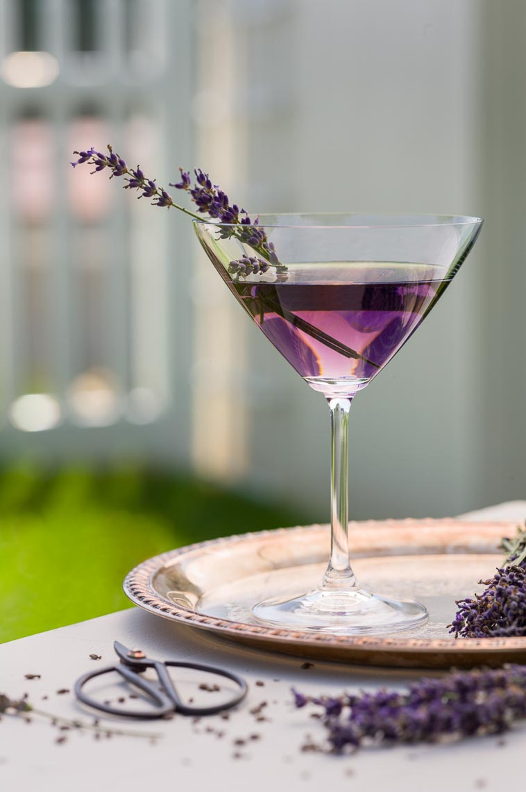 Lavender Cocktail - Drink Photographer, PA, NJ & NY