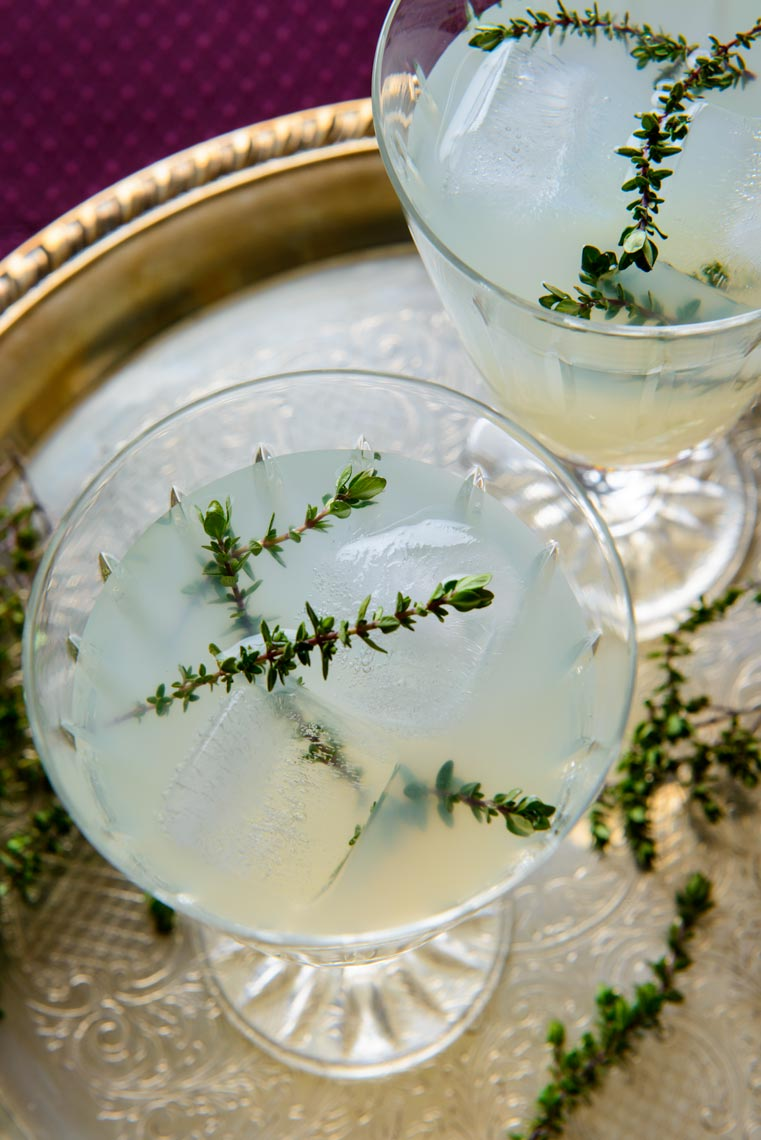 Thyme & Vodka Cocktail