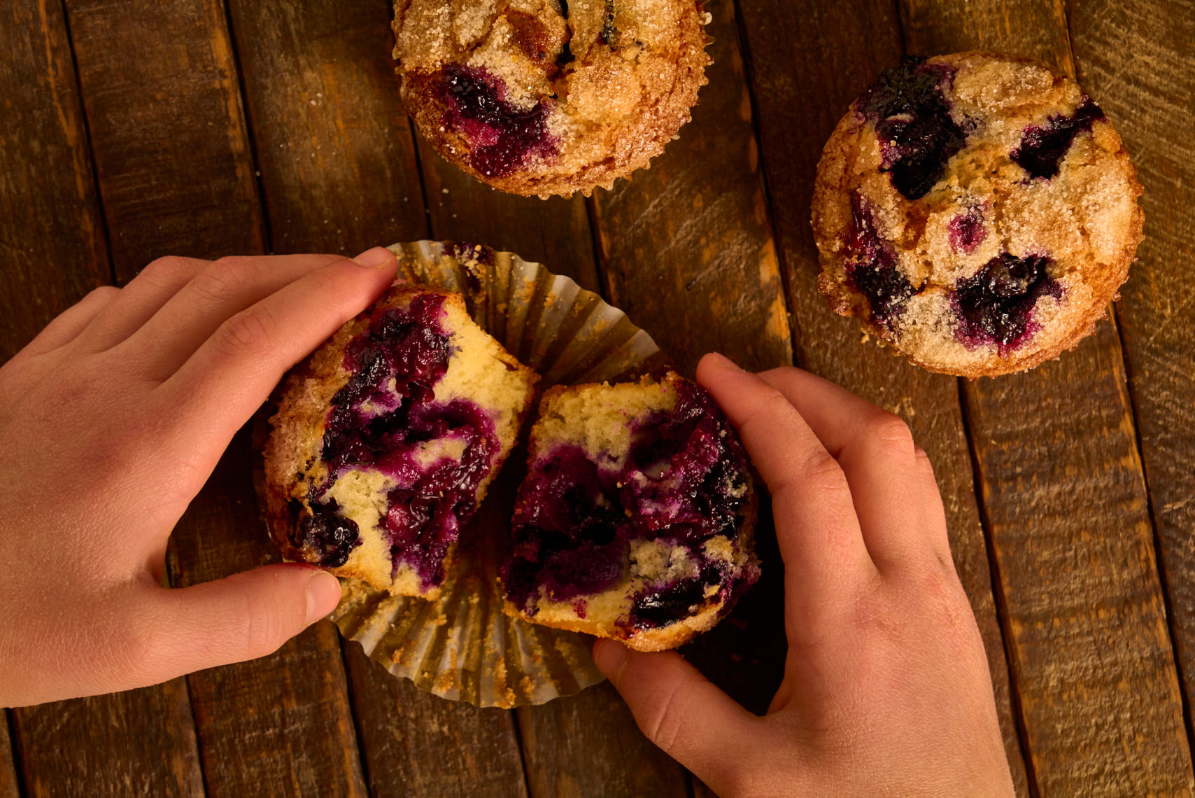 Blueberry Muffins - Food Photographer, Pennsylvania & New Jersey