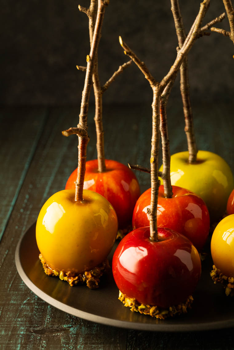Halloween Candied Apples - Philadelphia, PA Food Photographer & Stylist