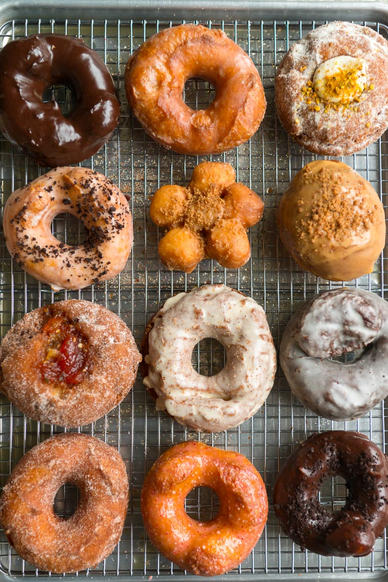 Donuts At Stockton Market - NJ Food Photographer