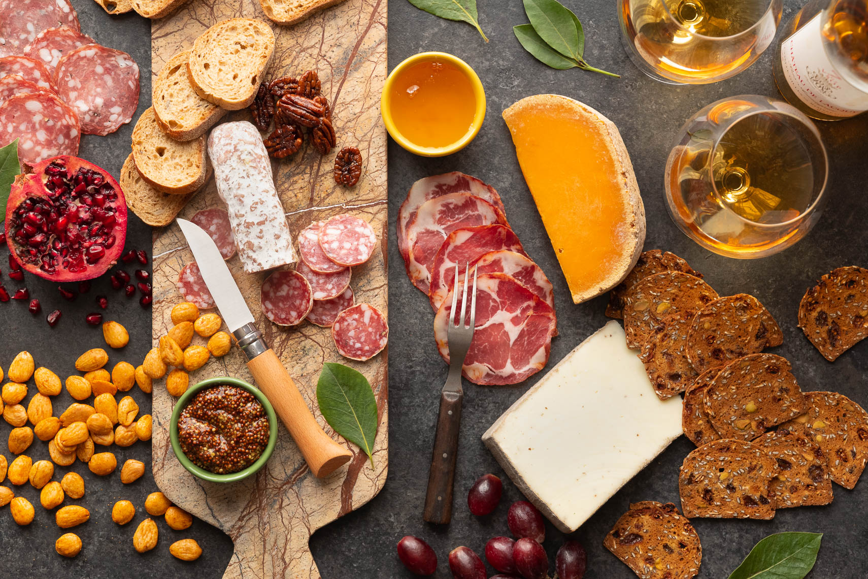 Charcuterie & Cheese - Food Photographer Philadelphia & Lehigh Valley, PA