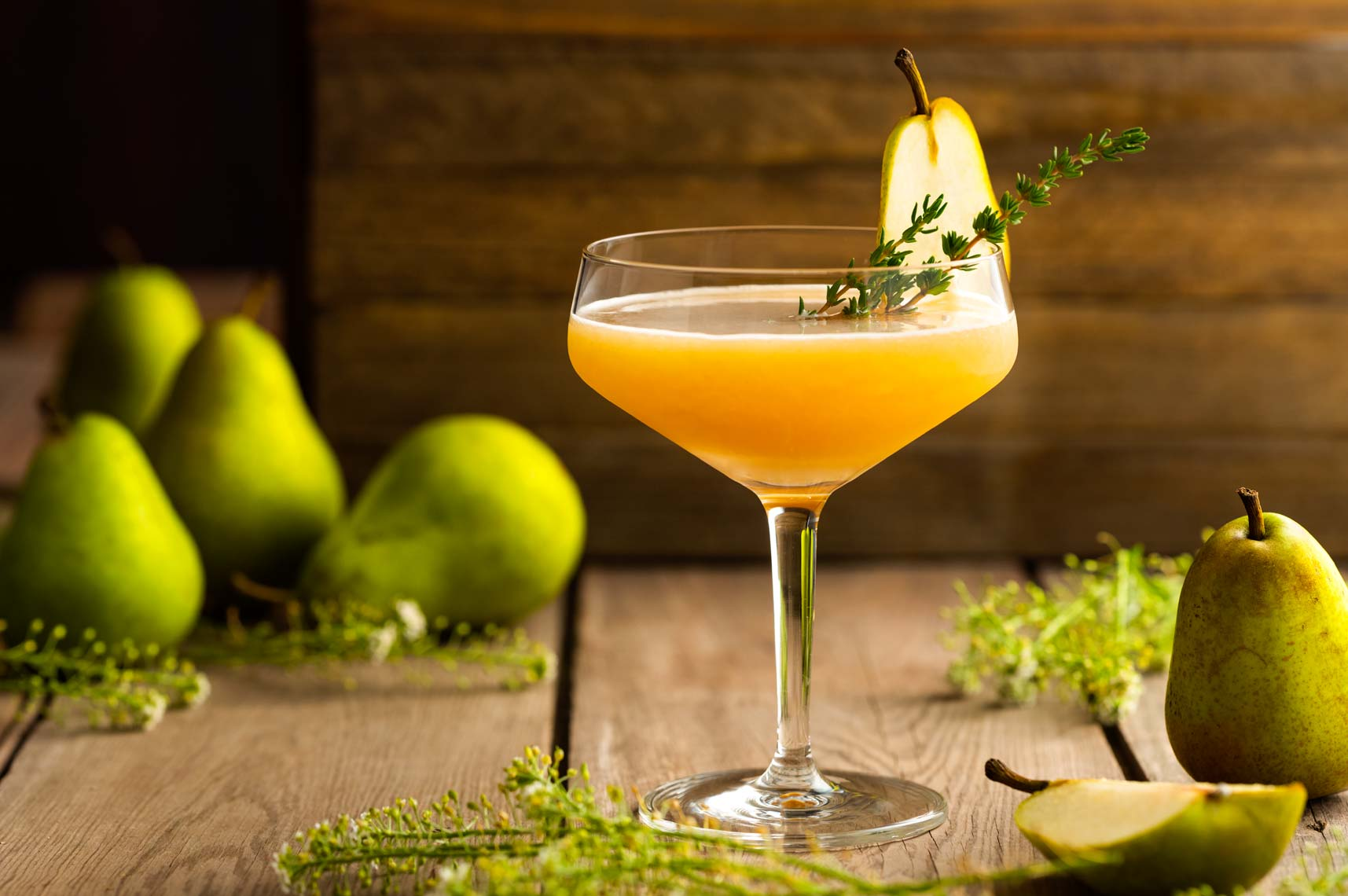 Pear Cocktail - Drink Photographer Philadelphia & New Jersey