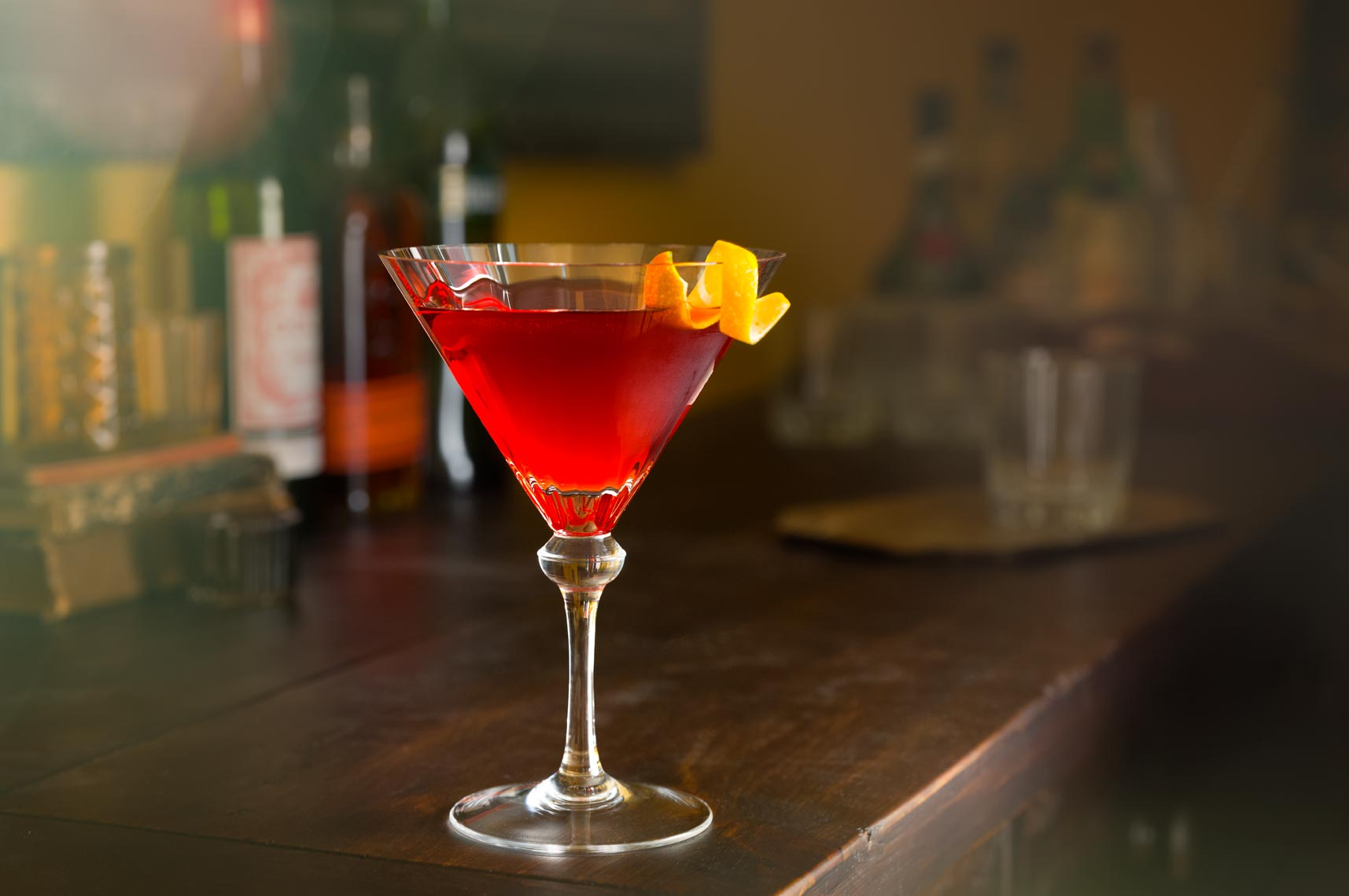 Boulevardier Cocktail - Drink Photographer