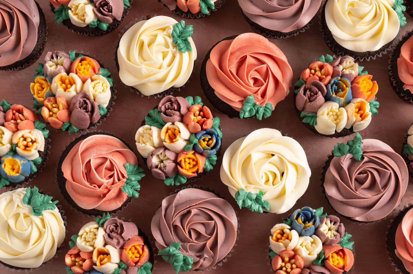 Floral Cupcakes - New Hope, PA Food Photographer