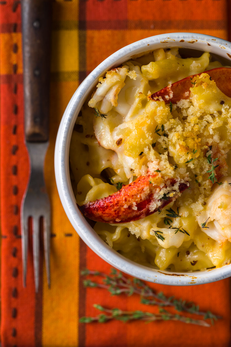 Lobster Mac & Cheese - Philadelphia Food Photographer