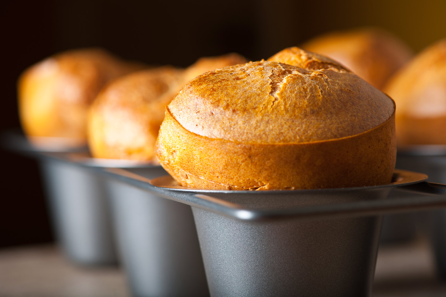 Popovers - Pennsylvania & New Jersey Food Photography