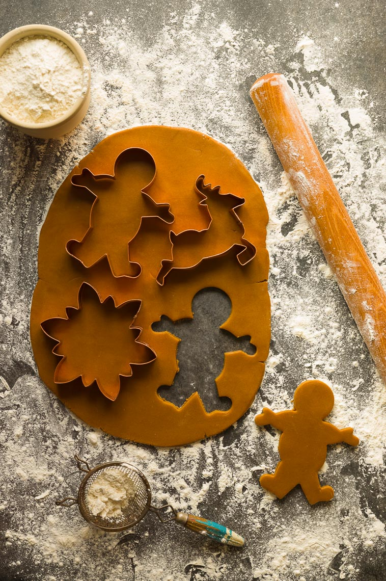Gingerbread Cookie Cutting- Philadelphia, PA  Food Photographer & Stylist
