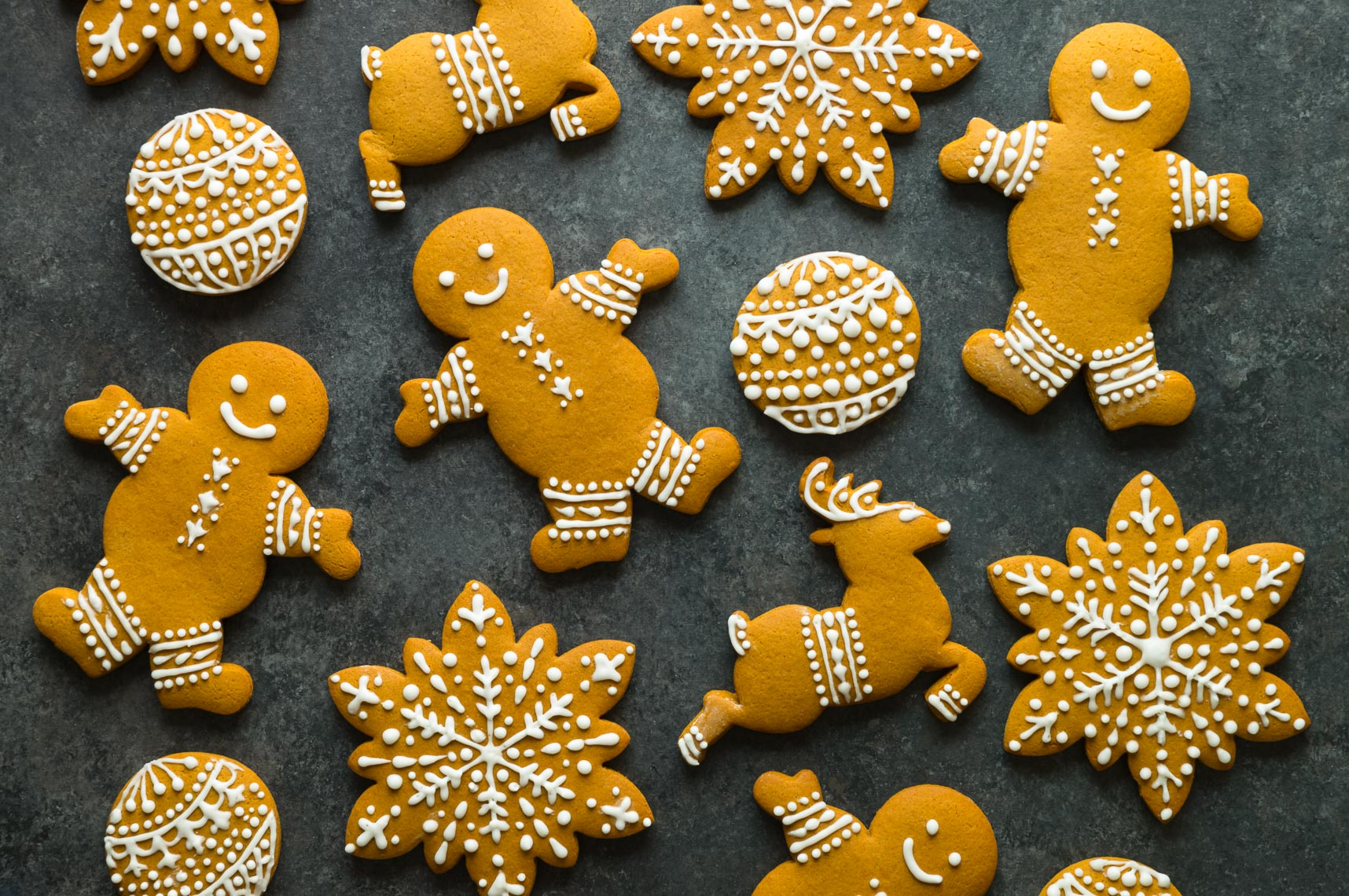 Holiday Gingerbread Cookies - Philadelphia Food Photographer & Stylist