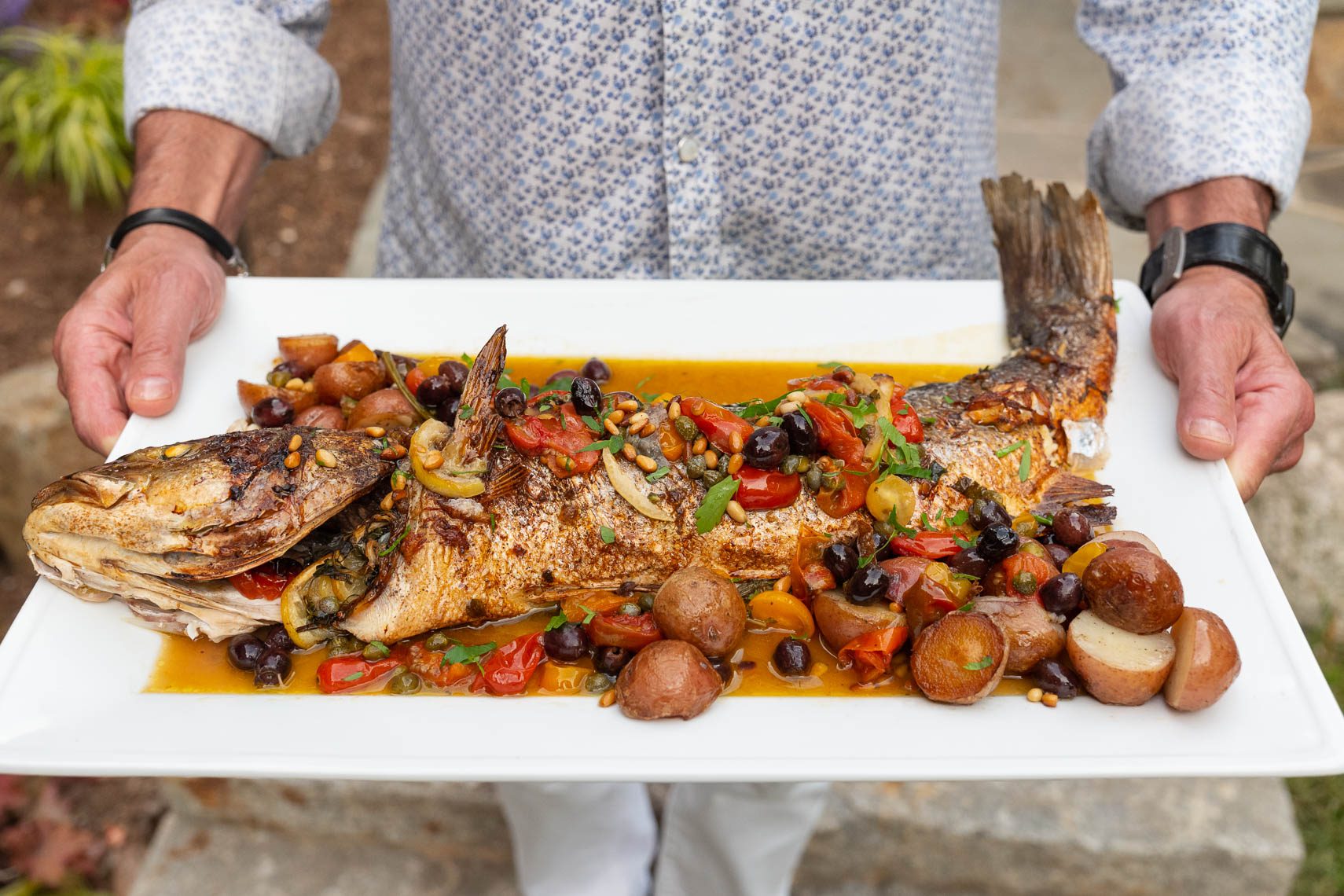 Branzino - New Jersey Monthly  - NJ Food Photographer