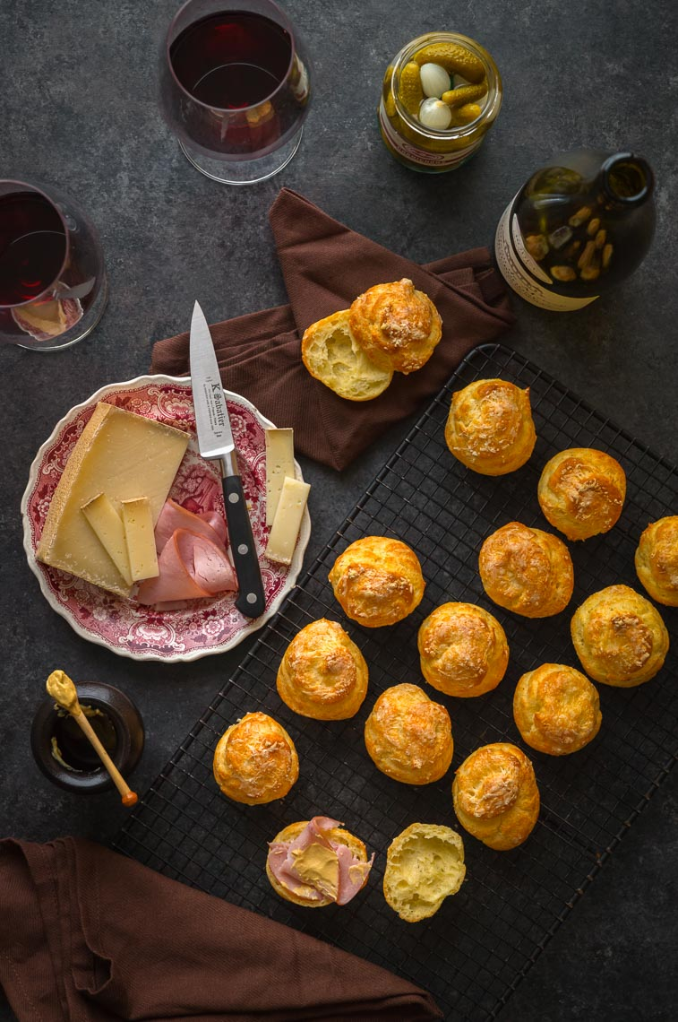 Gougères - French Food - Food Photographer & Stylist