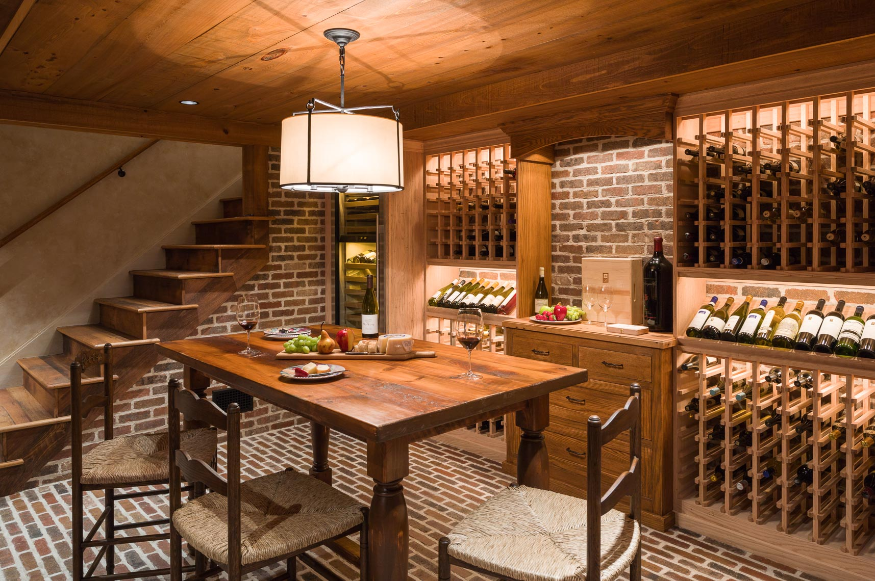 Wine Cellar Design - Bucks County, PA Interior Photographer