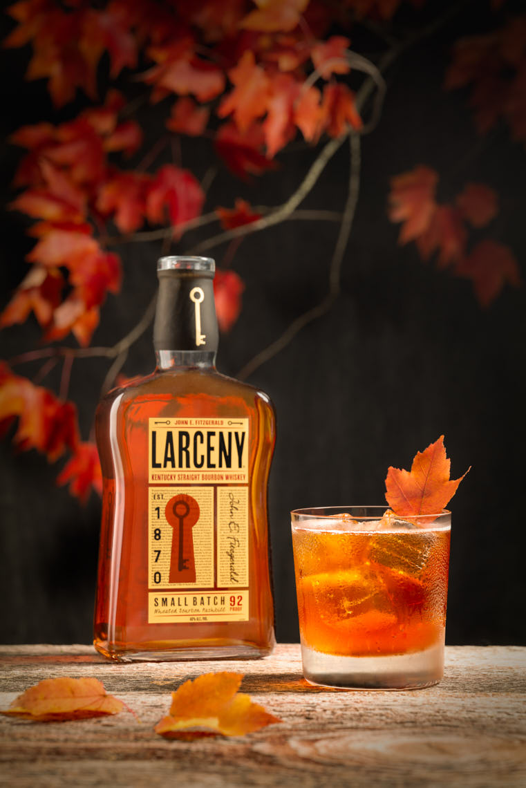Larceny Bourbon - Fall Cocktail - Cocktail Photographer NYC