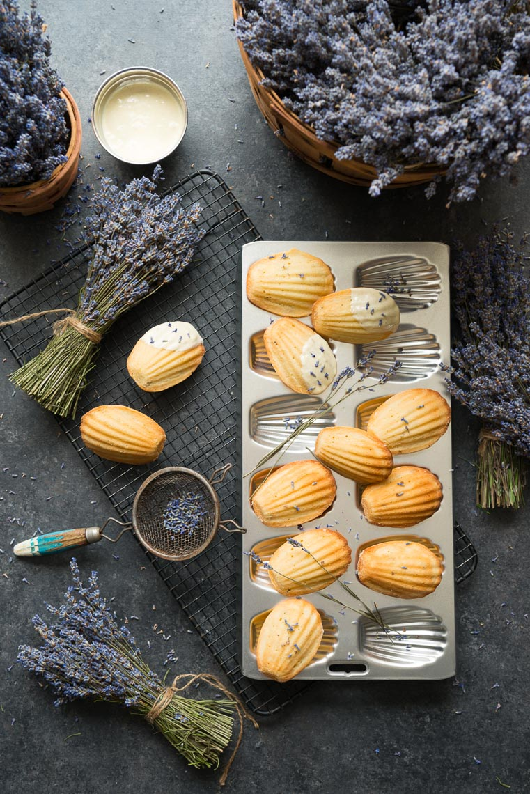 Lavender Madeleines - Food Photographer In Pennsylvania
