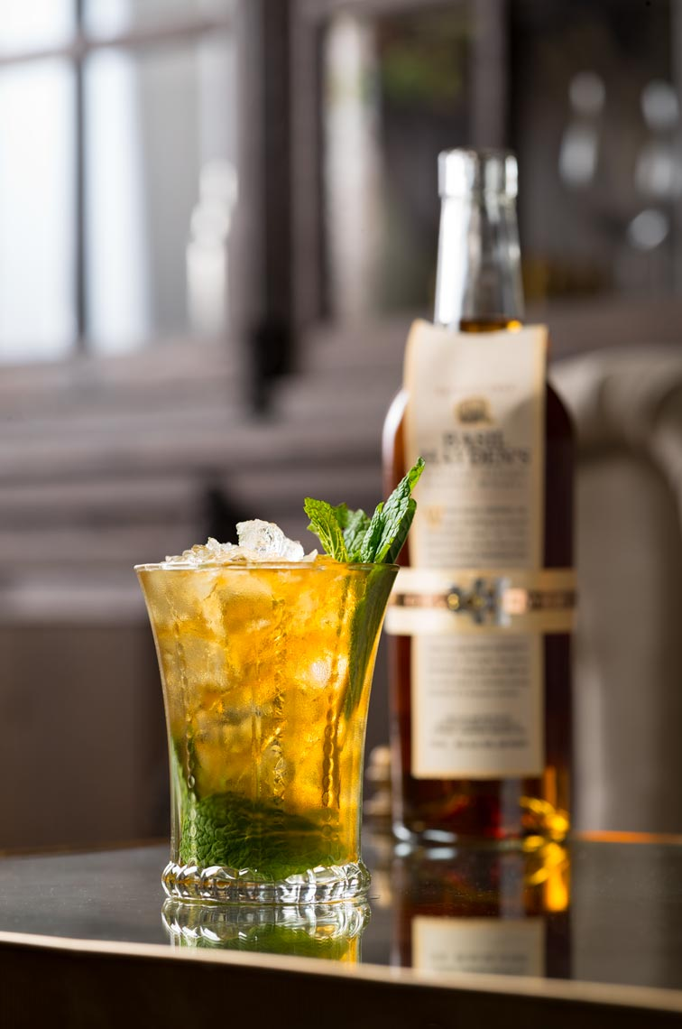 Mint Julip with Ginger Cocktail