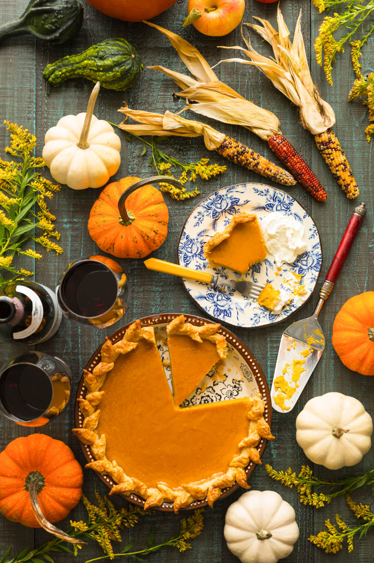 Homemade Pumpkin Pie - Food Photographer, Pennsylvania