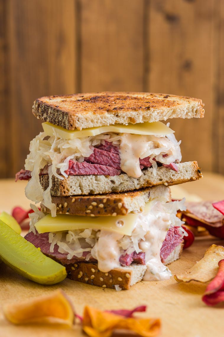 Reuben Sandwich - Food Photographer - Easton, PA