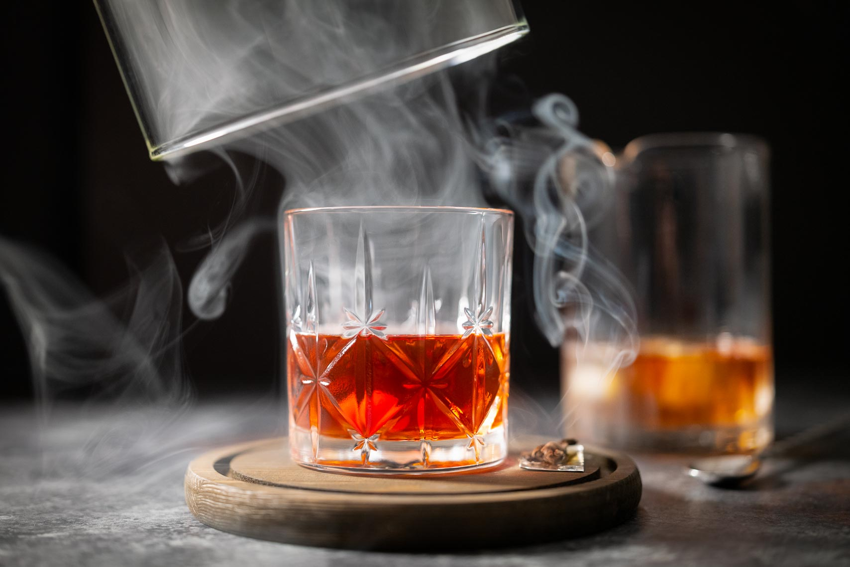 Smoked Fall Cocktail Photography - Pennsylvania