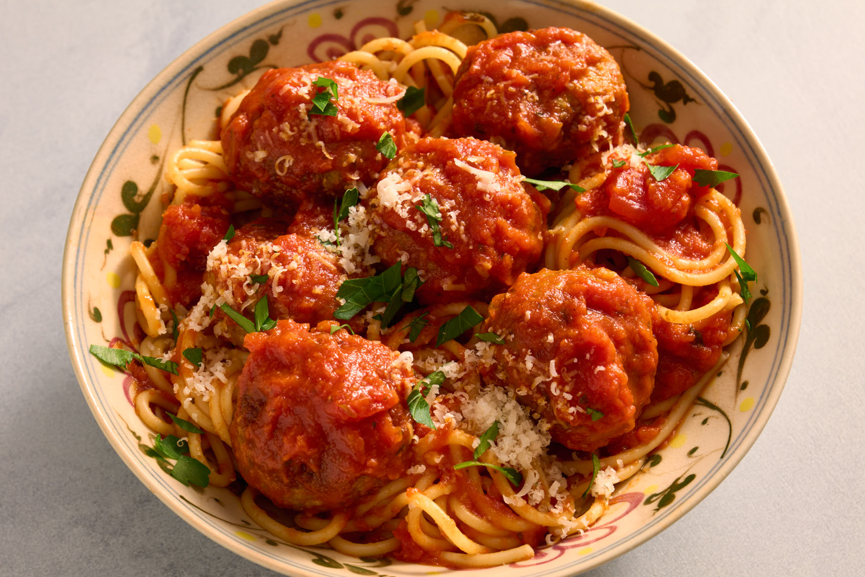Spaghetti & Meatballs - Restaurant Food Photographer PA, NJ, NYC