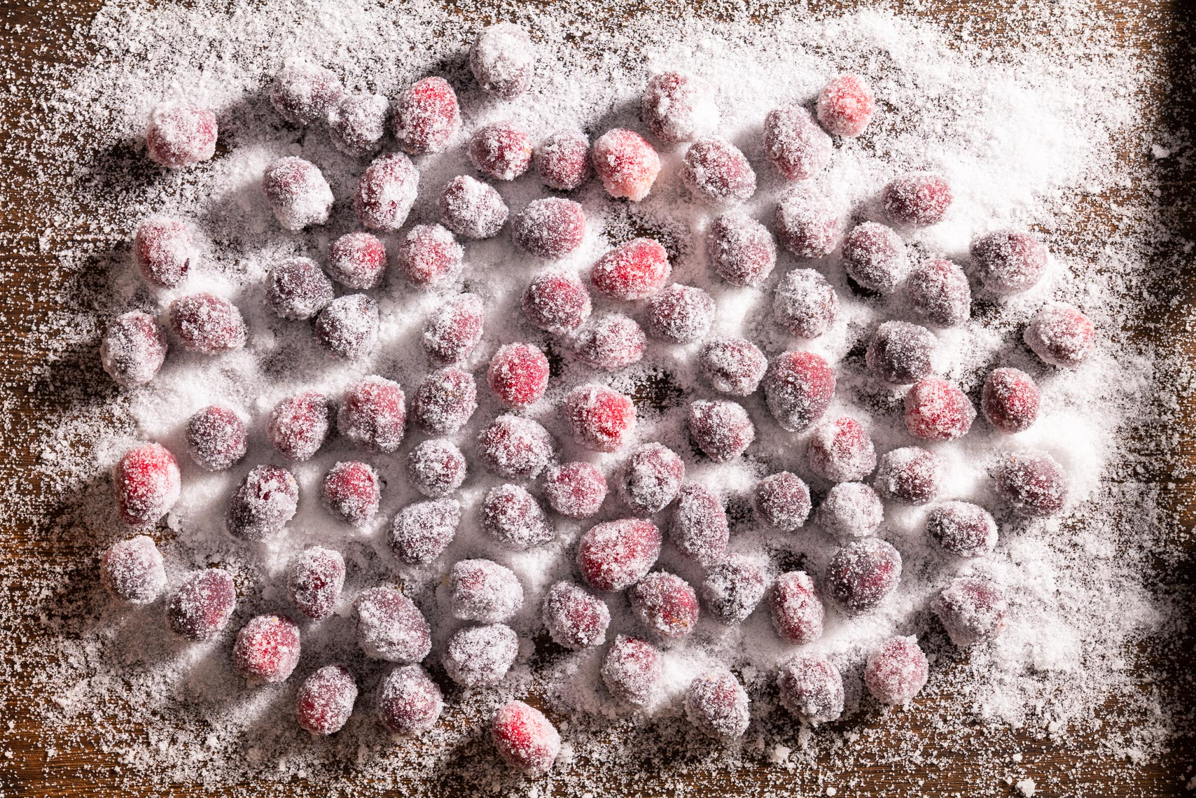 Sugar Coated Cranberries - Philadelphia, PA  Food Photographer