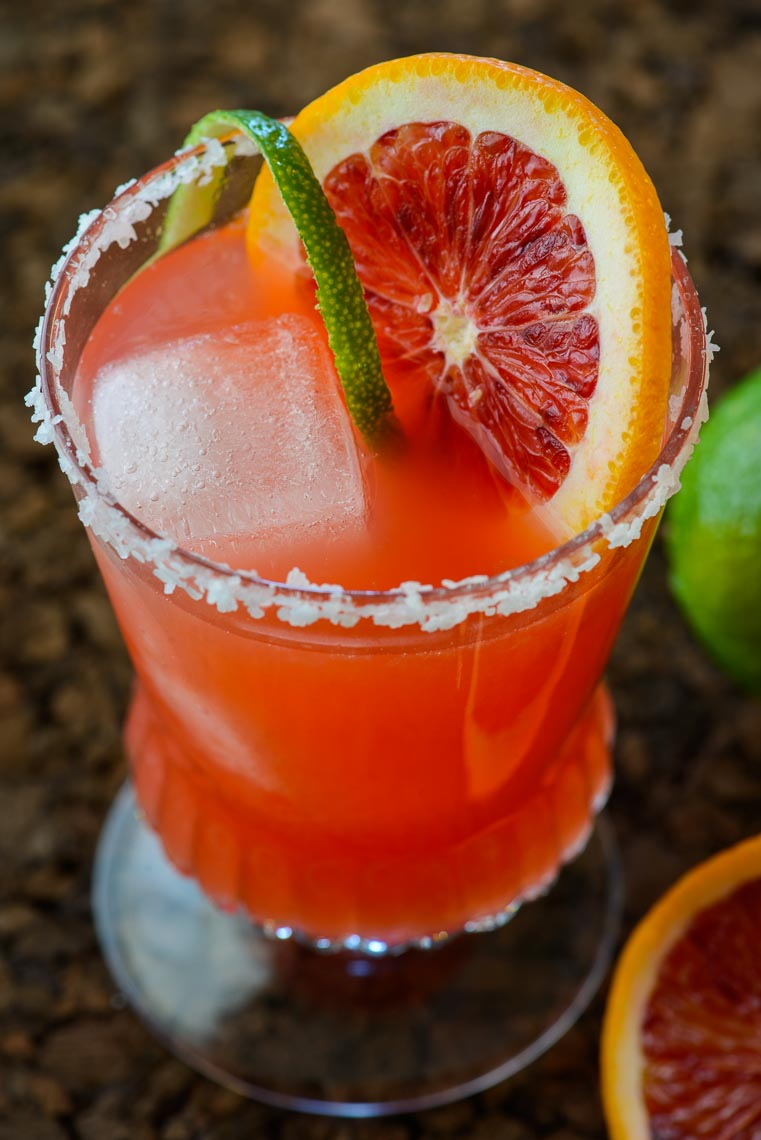 Blood Orange Margarita - Bucks County, PA Food & Drink Photographer