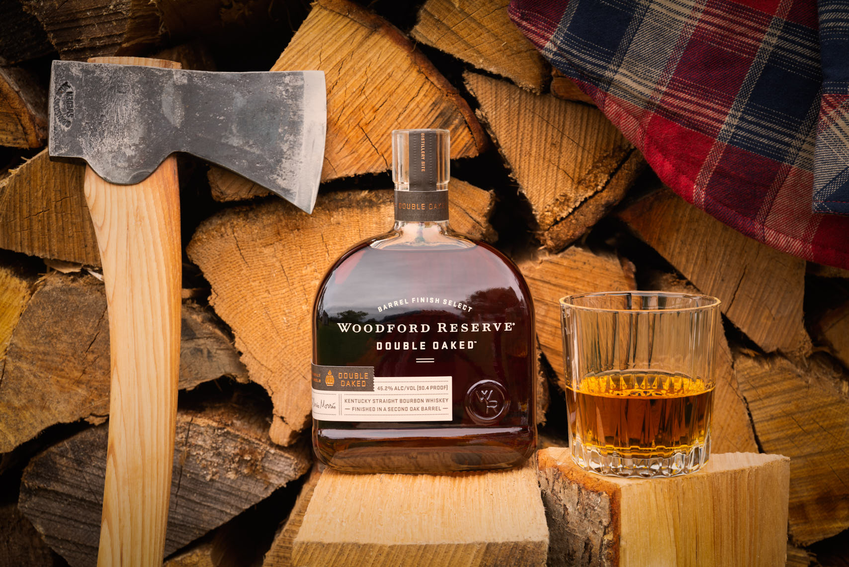 Woodford Reserve - Double Barrel Bourbon - Drink Photographer